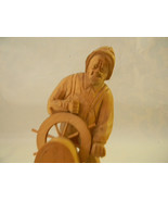 Vintage Wood Carving Sculpture by Quebec Artist Caron - $125.00