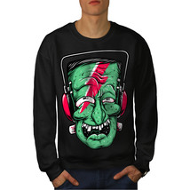 Zombie Music Art Fashion Jumper  Men Sweatshirt - $18.99+