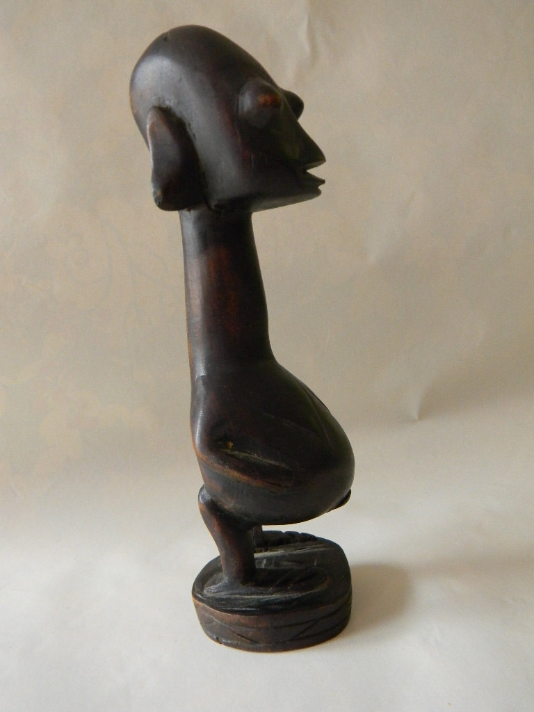 Vintage Wood Sculpture
