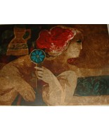 Vintage Lithograph by Well Listed Artist Alvar - $1,250.00