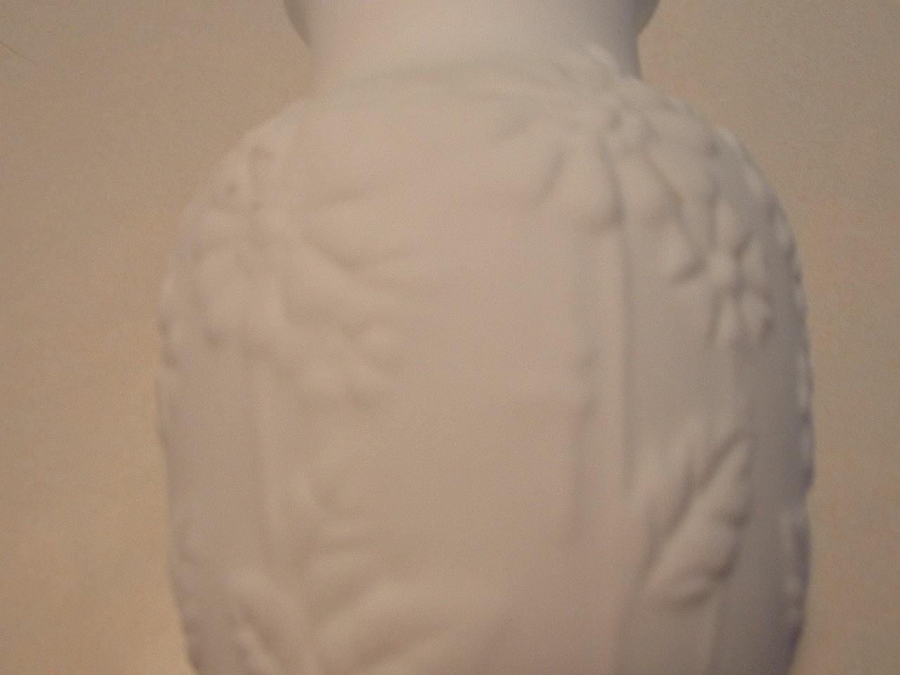 Vintage Bisque Porcelain Small Vase