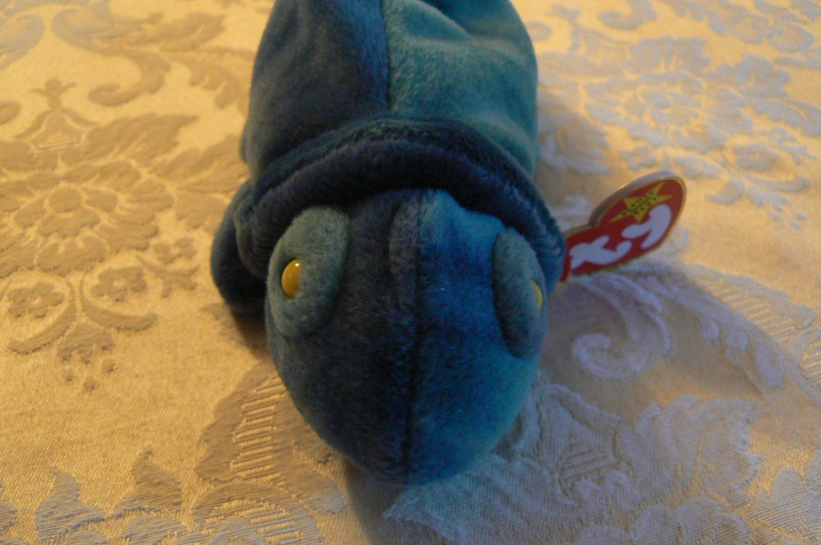 "Vintage Ty Beanie Babies Rainbow "" The Chameleon "" Hang Tag/Tush Tag 1997 Errors"