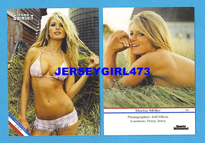 Marisa Miller 2004 Sports Illustrated SI Swimsuit Card #45