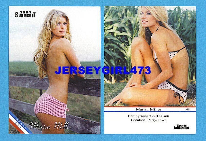 Marisa Miller 2004 Sports Illustrated SI Swimsuit Card #48