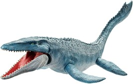 Jurassic World Fallen Kingdom Real Feel Mosasaurus NIB Action Figure Mattel - $32.66
