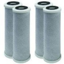 4 Pack of Compatible Filters for RV Trailer Camper Fresh Water 10 Carbon Paper F
