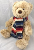 "Aeropostale Plush Bear Shaggy Tan 13"" Sitting W... - $19.74"