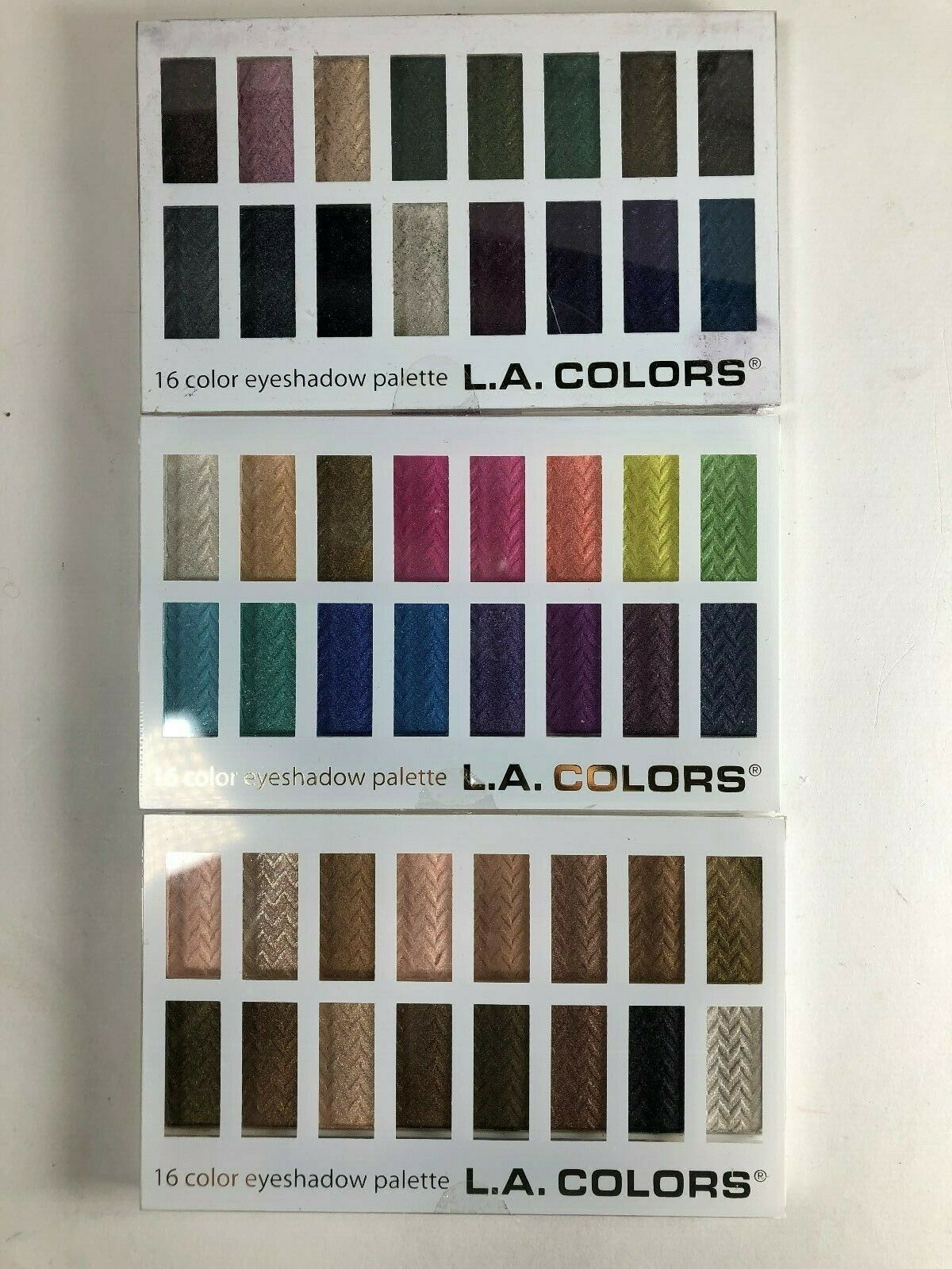 Primary image for L.A. Colors 16 Color Eye Shadow Palette Choose Your Palette