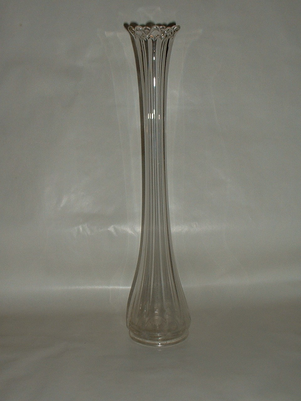 Vintage 15 1/2 Inch Tall Bud Vase for Multiple Buds