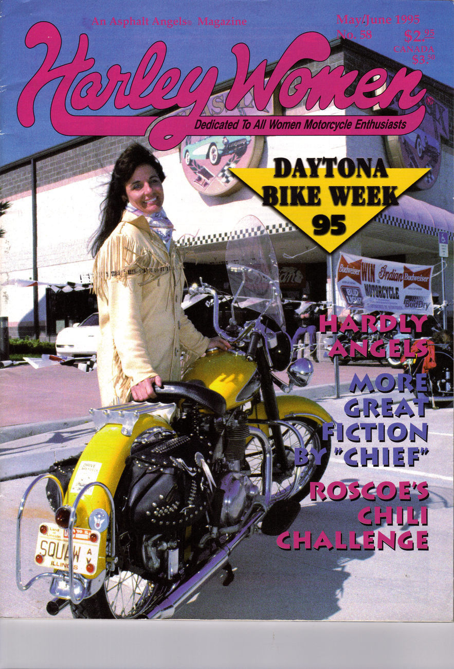 DAYTONA BIKE WEEK '95 HARLEY WOMEN 1995
