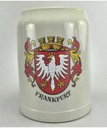 Frankfurt Western Germany Thewalt Crest Beer Mug Stein - $9.00