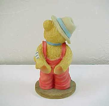 "Enesco Cherished Teddies ""Logan""  Love Is a Bear Necessity Circus Clown Figurine"