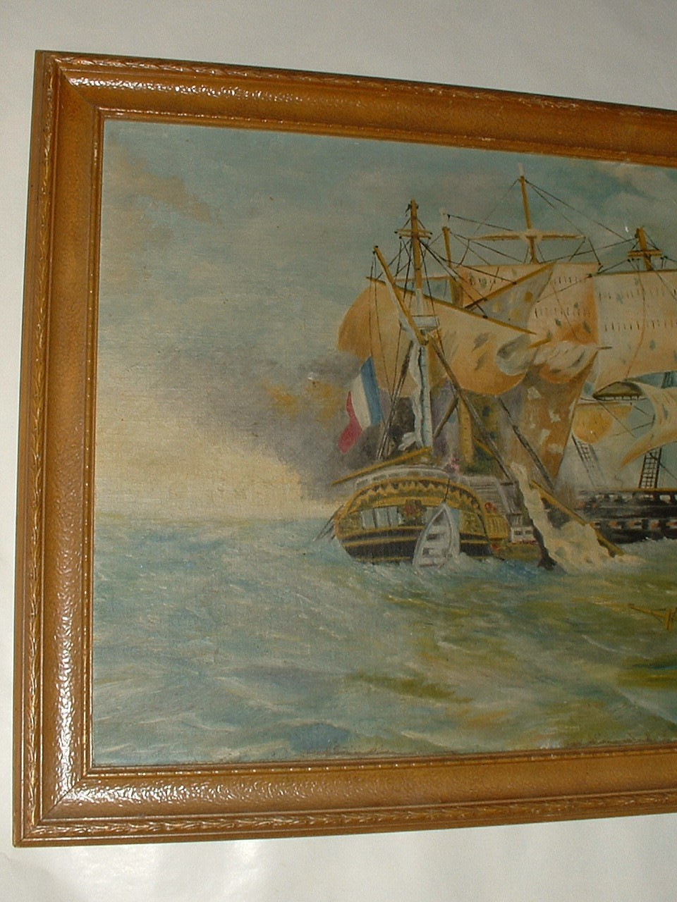Vintage Oil on Board signed by Artist