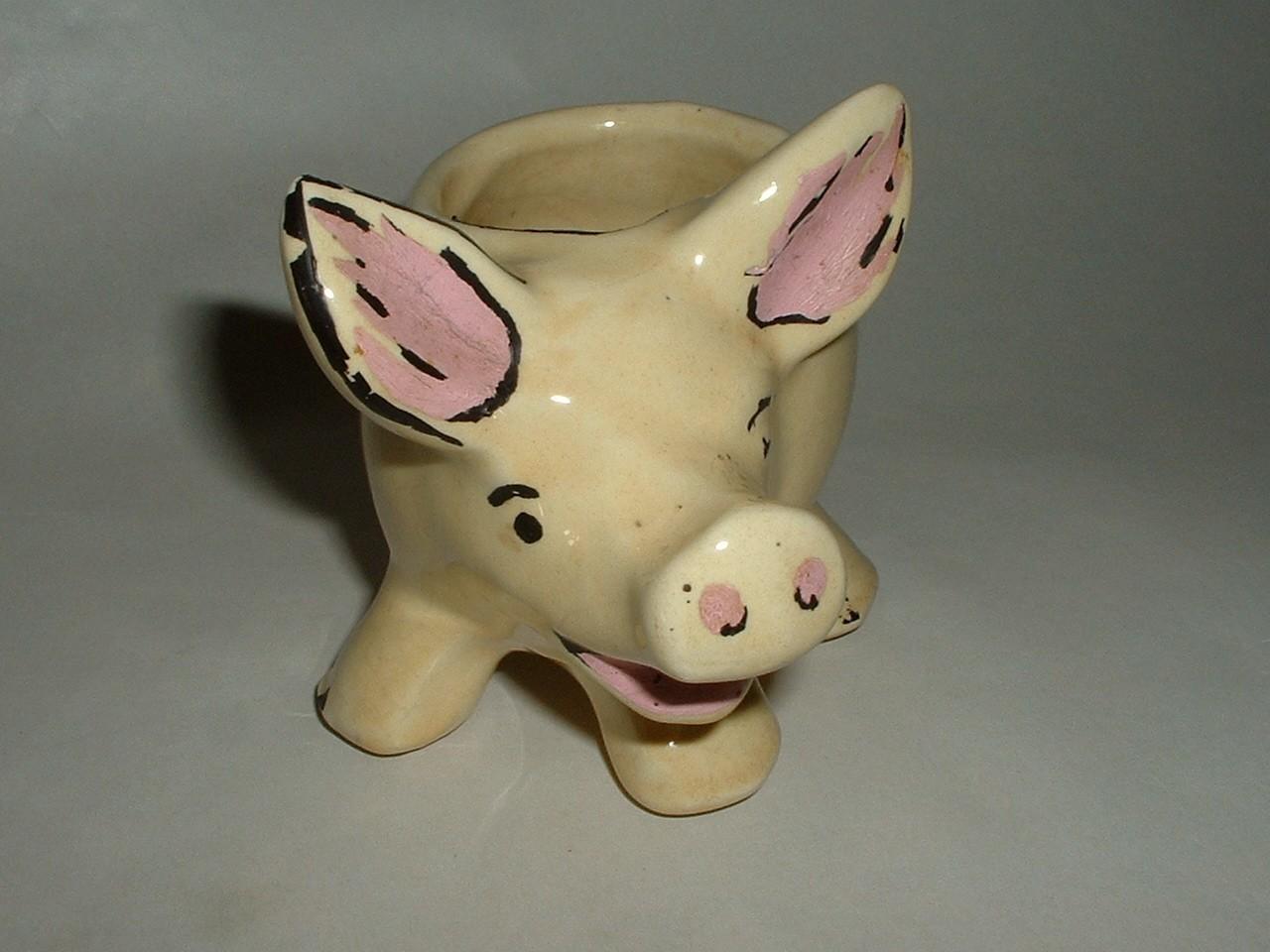 Vintage Shawnee Pottery Pig KnickKnack