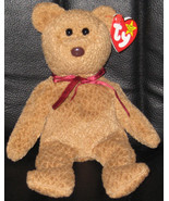 Ty Beanie Babies CURLY Style 4052 Brown Bear/Re... - $2.99
