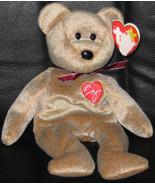 * Ty Beanie Babies 1999 SIGNATURE BEAR Plush Teddy - $2.99
