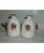 Vintage Bee Hive Salt and Pepper Sakers - $15.00