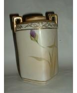 Vintage Hand Painted Nippon 5 3/4 Inch Porcelain Vase - $65.00