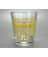 Pechanga California Resort Casino Clear Yellow Shot glass - $5.00