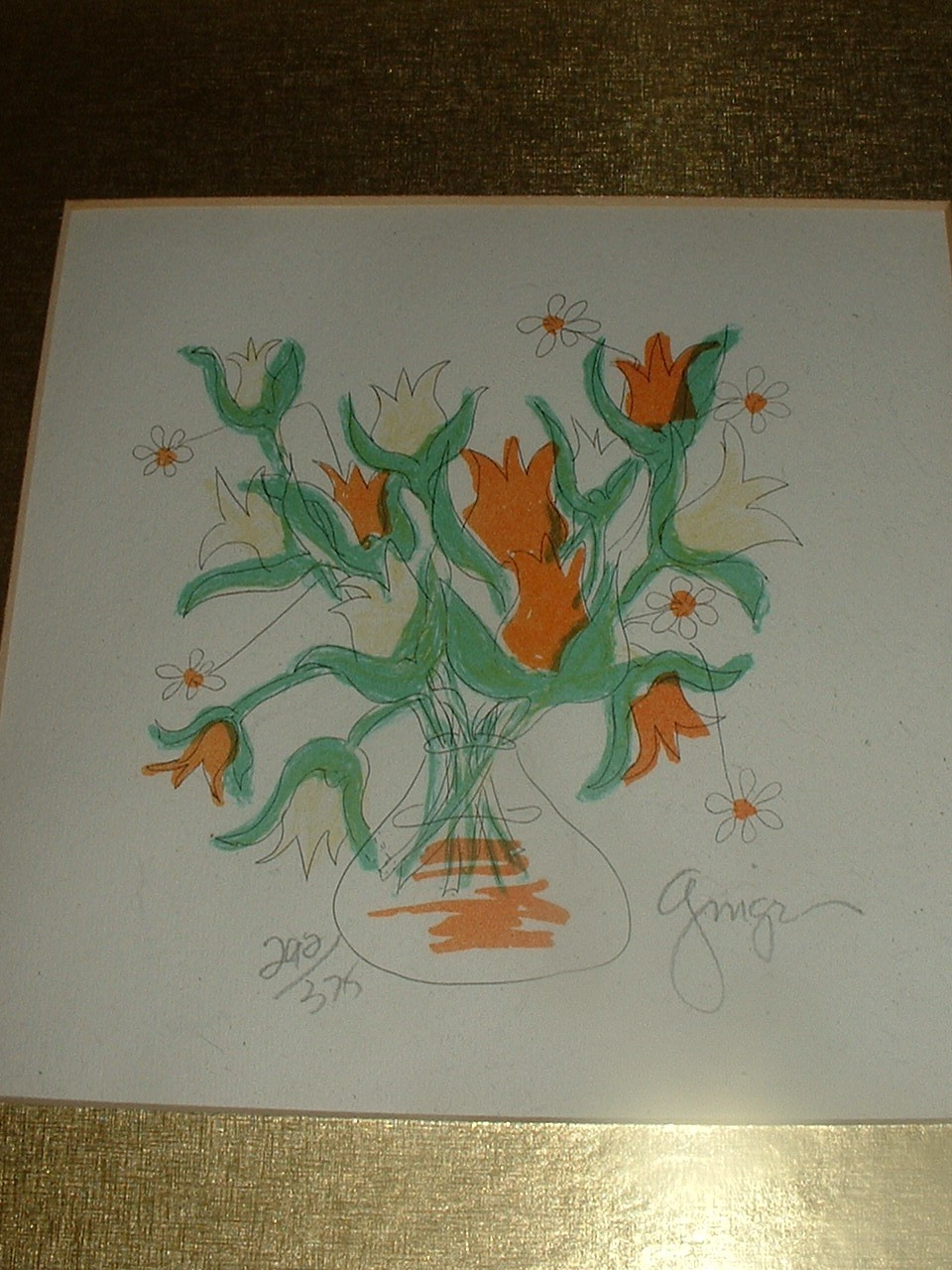 Vintage Limited Edition Signed Numbered Print