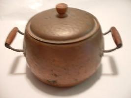 Vintage Antique Copper Kettle Pot with Lid - $75.00