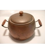 Vintage Antique Copper Kettle Pot with Lid - $75.00