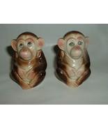 Vintage Monkey Salt and Pepper Shakers - $15.00