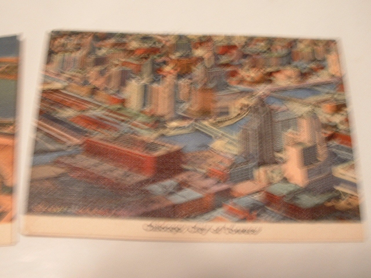 Vintage  9  Trade Cards Chicago