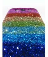 Samsung Galaxy S3 Case - Rainbow Multi Colored Glitter - $17.99