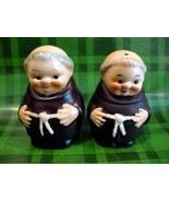 Goebel Friar Tuck Monks Salt and Pepper Shakers Set 1950's Collector Vin... - $24.95