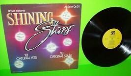 Ronco Shining Stars 1978 Vinyl LP Record Album KISS Patti Smith ABBA Hal... - $6.93
