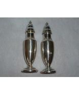 Elegant Vintage Silverplate Salt and Pepper Shakers - $12.00
