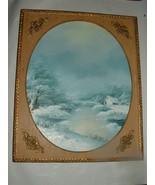 Vintage Oil Painting Winter Scene by Artist Rumsky - $150.00