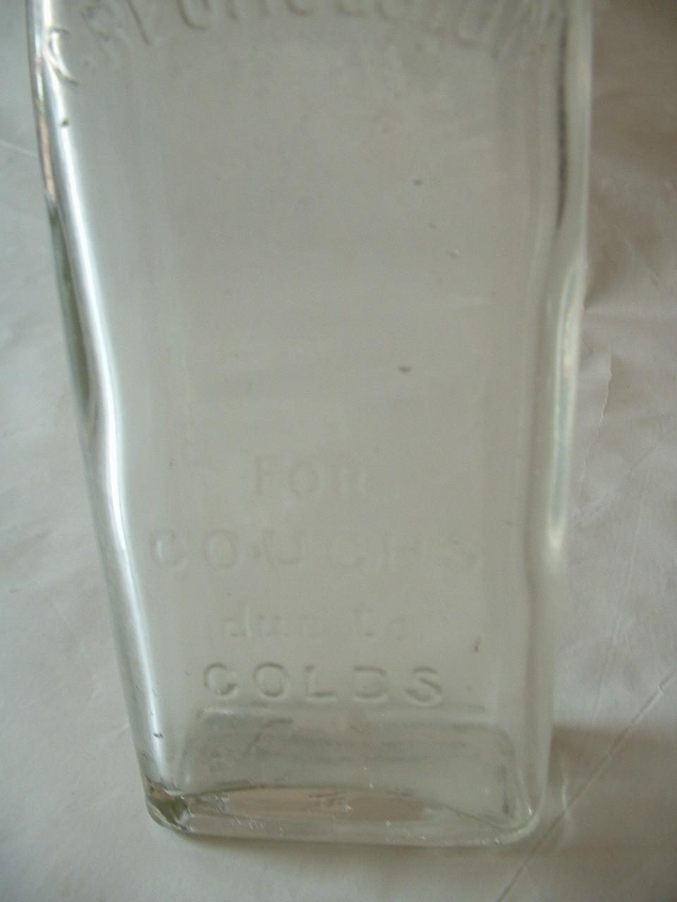 Vintage Creomulsion Cough Medicine Bottle