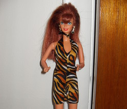Barbie Doll Wearing Leopard Outfit       Must See - $5.99