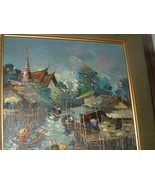 Vintage Oil on Canvas Painting signed by Artist - $325.00