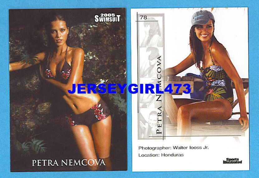 Petra Nemcova 2005 Sports Illustrated SI Swimsuit Card #78
