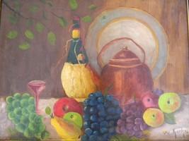 Vintage Still Life Oil Painting - $125.00