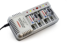 Tenergy Model T-1199B Universal Fast Battery Charger NiCd NiMh 9V slow o... - $14.39