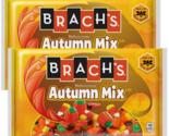 Brach's Autumn Mix Candy Corn Halloween Candy Pumpkins Fall 14 oz Lot of 2
