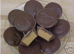 2 lbs DARK CHOCOLATE PEANUT BUTTER CUP Gourmet Candy