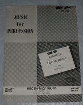 Andante for marimba thumb200