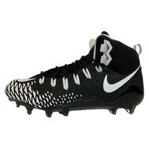 Nike Force Savage Pro Elite TD Football Cleats Black White 880144-012 Si... - $59.39