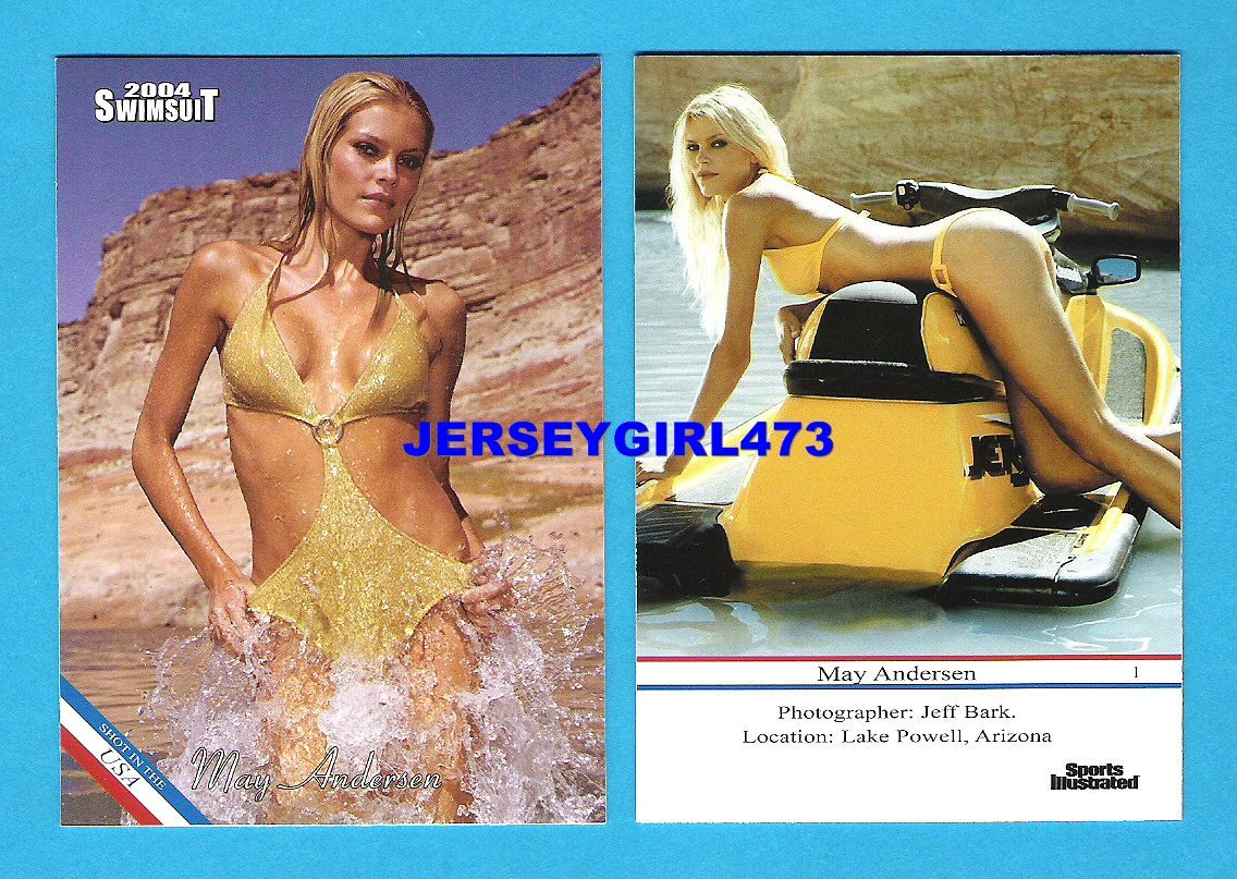 May Andersen 2004 Sports Illustrated SI Swimsuit Card #1