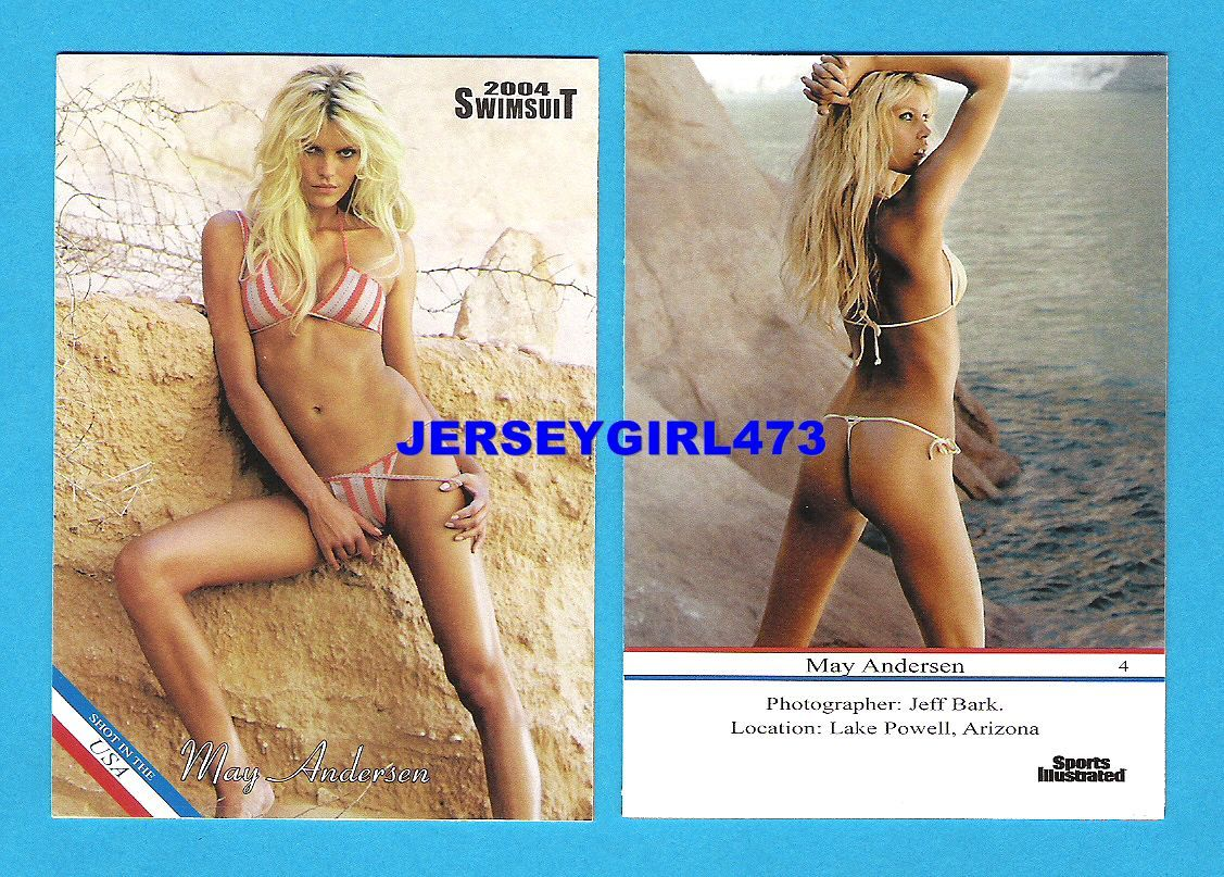 May Andersen 2004 Sports Illustrated SI Swimsuit Card #4