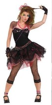 80's DIVA ROCK STAR ONE SIZE ADULT COSTUME REALLY CUTE! - $39.00