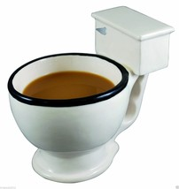 Hot The Toilet Mug, Coffee, Tea, Icecream, Beverages Cup, Humorous Funny... - $26.61