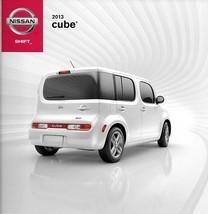 2013 Nissan CUBE sales brochure catalog US 13 1.8 S SL Preferred - $8.00