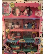 MInnie Mouse Bow Tel Hotel 2 Sided Playset with Light , Sounds and Eleva... - $66.93