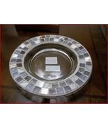 NIB YANKEE CANDLE Harmony Mosaic Glass Tray For Pillar Candle Medium/Lar... - $13.95